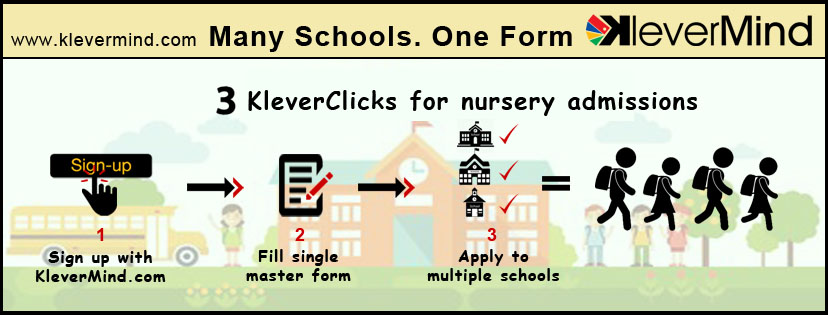 KleverMind many schools one form, school admissions