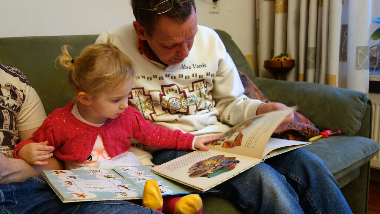 Reading with a parent